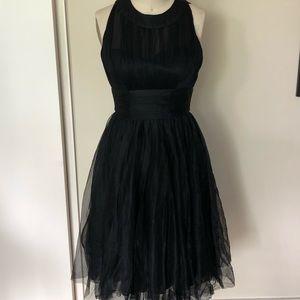 NWT Unique Vintage Black Cocktail Dress Size M